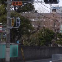 平岡小学校東の信号設置