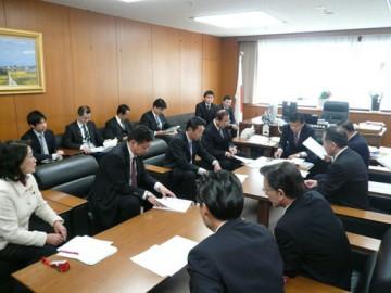 平成25年1月21日(月) 赤羽経済産業副大臣に要望