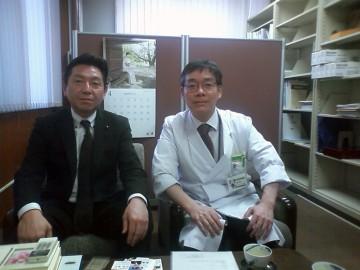 平成25年4月4日(木) 東北大学医学部の青木教授