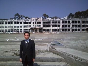 平成25年4月5日(金) 宮城県石巻の現状を視察
