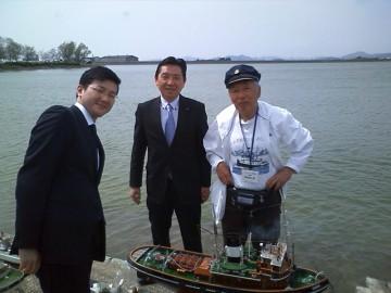 平成25年4月14日(日) 稲美町加古大池 模型船走航会