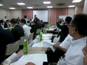 平成25年9月30日(月) 県漁連との懇談会