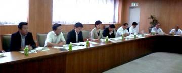 平成25年10月3日(木) 兵庫県議会議員団で兵庫の子育て支援について