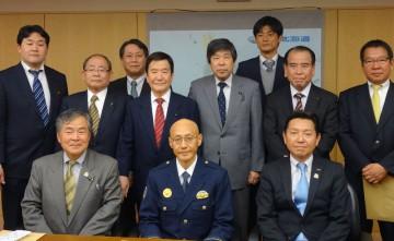 坂 道警本部長と意見交換-2