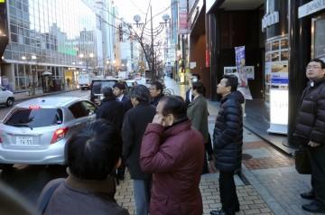 札幌市すすきの地区の街頭防犯カメラシステムを視察