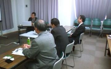 平成25年11月12日(火) 北九州まちづくり株式会社で、中心市街地活性化について