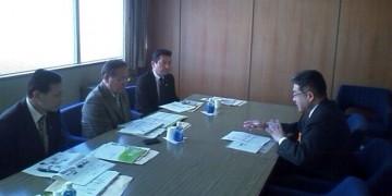平成25年11月13日(水) 広島県で、がん対策について