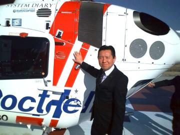 平成25年12月3日(火) 加古川医療センターのドクターヘリを視察