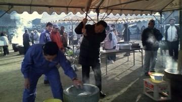 平成26年1月19日(日) 西大野町内会の餅つき大会