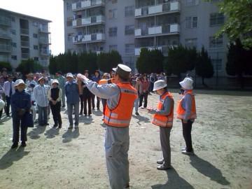 平成26年5月25日(日) 西河原団地の消防訓練