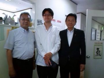 平成26年6月4日(水) 大西市議会議長と波の家福祉会を訪問