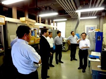 平成26年7月15日(火) 産業労働部常任委員会管内視察 県立工業技術センター
