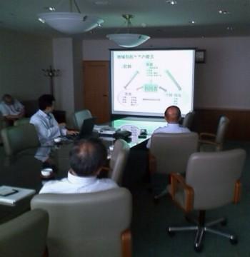 2014年6月26日(木) 尾道市の公立みつぎ総合病院で地域包括ケアシステム