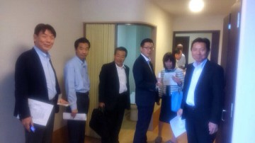 平成26年9月19日(金) 地域包括ケアシステムメンバーで、姫路の高齢者対応賃貸住宅を視察
