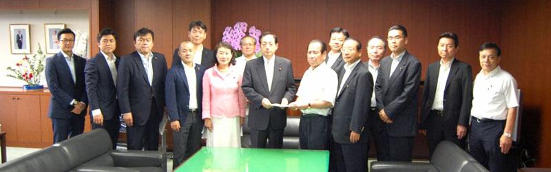 平成26年9月11日(木) 太田国土交通大臣に「公平で利用しやすい高速道路料金の実現」などについて要望