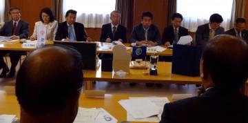 平成26年11月6日(木) 兵庫県手延素麺協同組合と意見交換を行いました