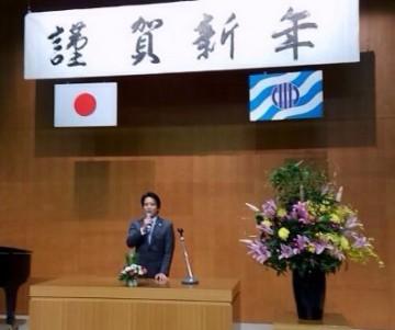 平成27年1月5日(月) 加古川市年賀会に出席