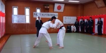 平成27年1月29日(木) 加古川警察署術科始め式に出席