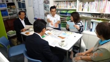 平成27年7月2日(木) 「NPO法人ワークショップいふ」で、介護福祉の取組について