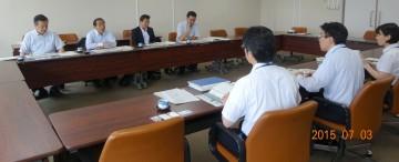 平成27年7月3日(金) 福岡市で 「観光・MICEの振興に向けた取組」 「グローバル人材育成の取組」 について