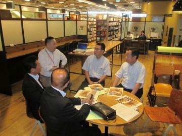平成27年7月3日(金) 福岡市の起業家支援拠点「スタートアップカフェ」を視察
