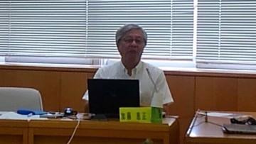 平成27年7月16日(木) 兵庫県立大学の加藤先生をお招きして「地域創生」について