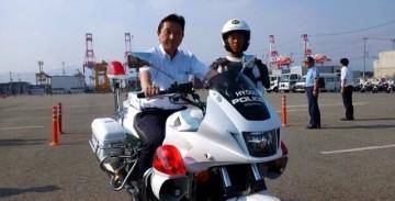 平成27年7月31日(金) 兵庫県警交通機動隊を視察