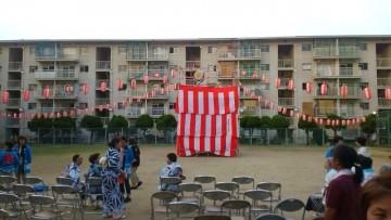 平成27年8月8日(土) 西団地の夏祭り