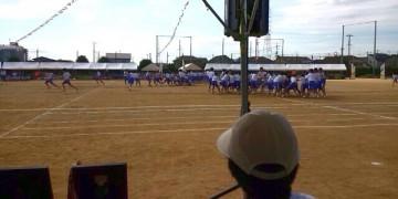 平成27年9月19日(土) 別府中学校の体育大会に参加