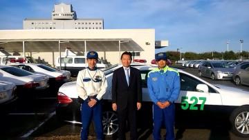 平成27年11月日(水) 茨城県の安全運転中央研修所を視察
