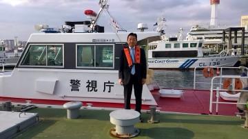 平成27年11月12日(木) 警視庁湾岸警察署を視察