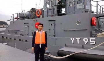 平成27年11月13日(金) 海上自衛隊横須賀地方隊を視察