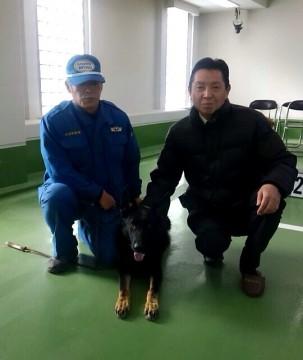 平成28年2月2日(火) 警察犬訓練所を視察