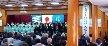 平成28年4月5日(火) いなみ野学園入学式に出席