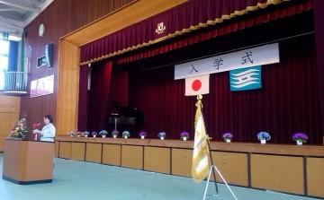 平成28年4月11日(月) 東はりま特別支援学校高等部の入学式に出席