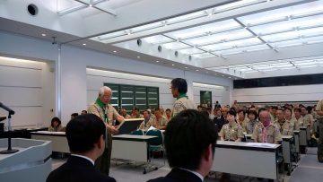 平成28年5月7日(土) ボーイスカウトの総会に出席