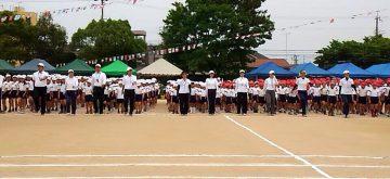 平成28年5月28日(土) 別府小学校運動会に参加