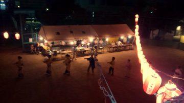 平成28年8月14日(日) 中別府町内会の盆踊り
