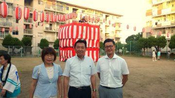 平成28年8月20日(土) 加古川西団地の夏祭りに参加
