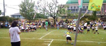 平成28年9月27日(火) 別府町幼稚園の運動会に参加