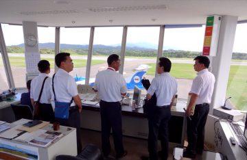 平成28年8月25日(木) 熊本県の天草空港で空港の利活用について