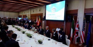 平成28年9月11日(日) G7神戸保健大臣会合の歓迎レセプションに出席