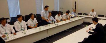 平成28年9月21日(水) 衆議院第1会館で厚労省の桑原指導官から「新専門医制度について」説明
