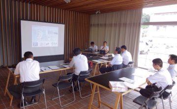 平成28年8月26日(金) 油津商店街で日南市の就労支援プロジェクトについて