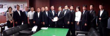 平成28年9月21日(水) 石井国土交通大臣に基幹道路ネットワークの早期整備について要望