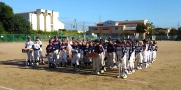 平成28年10月10日(日) 別府リーグの開会式に出席