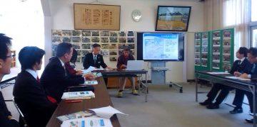 平成28年11月22日(火) 総務常任委員会で淡路市の「そばカフェ生田村」を視察