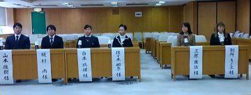 平成29年3月3日(金) 兵庫県議会スポーツ議員連盟で活躍した選手に表彰
