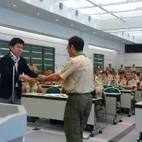 平成29年5月14日(日) 日本ボーイスカウト兵庫連盟定時総会に出席