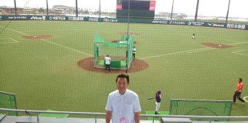 平成29年9月13日(水) 兵庫県議会スポーツ議員連盟でHAWKS ベースボールパーク筑後を視察
